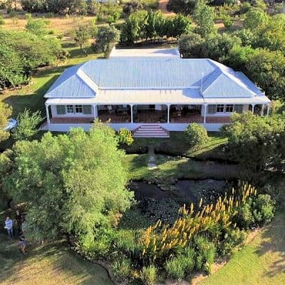 Cedar House Guest Farm accommodation near Citrusdal in the Cederberg Mountains South Africa